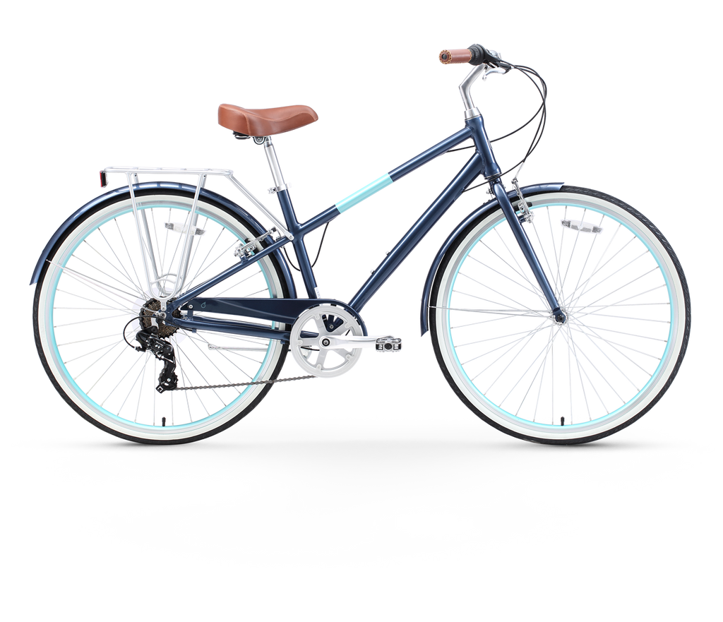 sixthreezero Reach Your Destination Women's 7 Speed Hybrid Bicycle