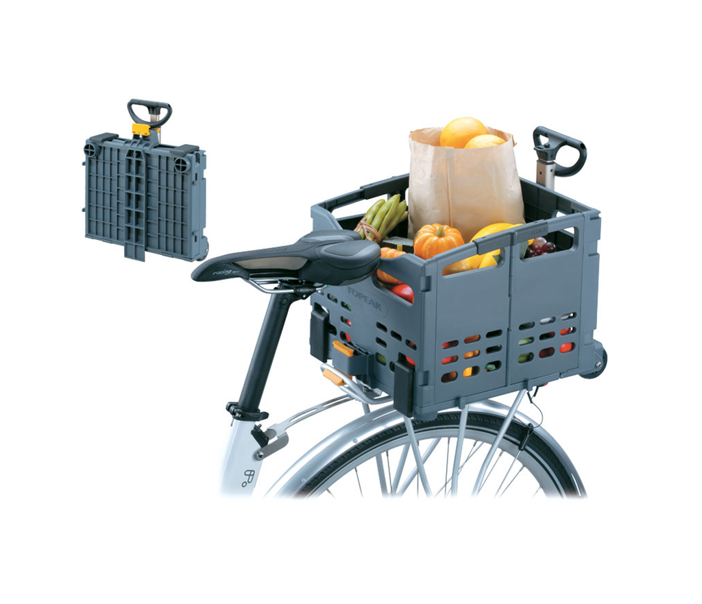 Topeak TrolleyTote Folding MTX Rear Basket