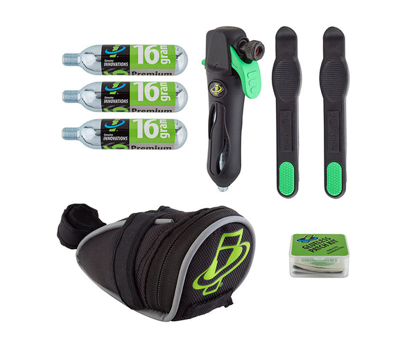 Genuine Innovations Deluxe Patch Kit with Seat Bag