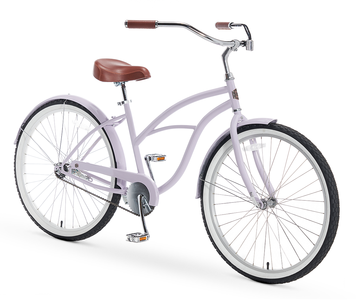 A/O Women's Amelia Single Speed Beach Cruiser Bicycle