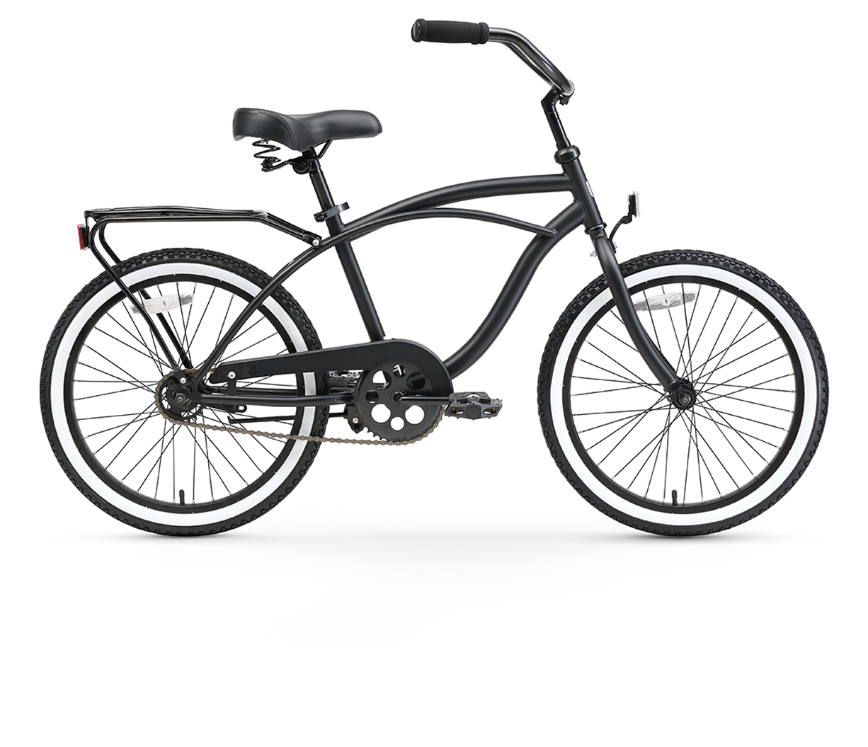 "sixthreezero Around the Block Boy's 20"" Single Speed Beach Cruiser Bicycle"
