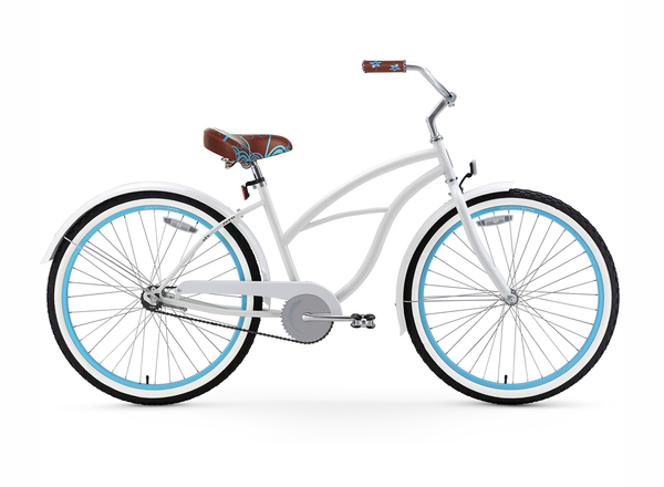sixthreezero BE Woman Single Speed Women's Beach Cruiser Bicycle