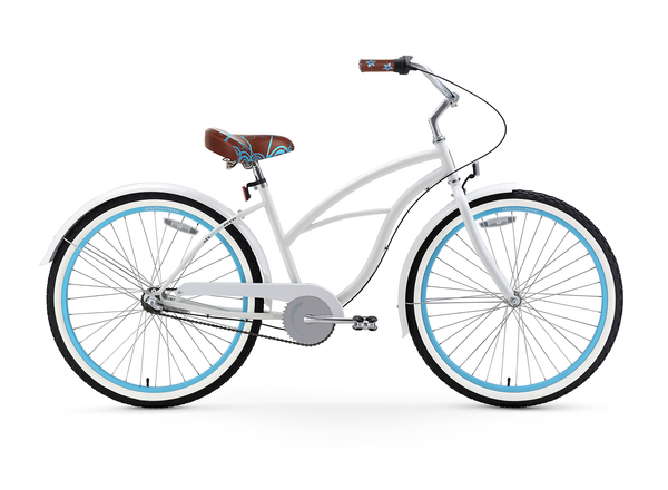 sixthreezero BE Woman 3 Speed Women's Beach Cruiser Bicycle