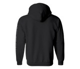 sixthreezero EVRYjourney Midweight Full-Zip Hooded Black Beauty Lunar Rock 100% Cotton Unisex Sweatshirt