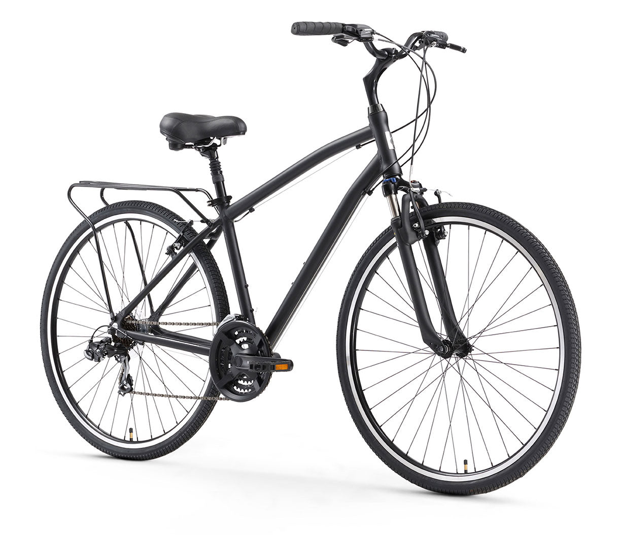 sixthreezero Body Ease Men's 21 Speed Comfort Bicycle