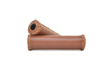 Leather Handlebar Grips - Single Speed