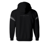 sixthreezero EVRYjourney Midweight Full-Zip Hooded Black Beauty 100% Cotton Unisex Sweatshirt