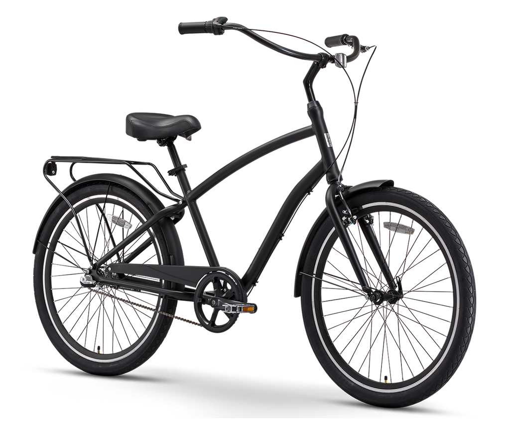 "sixthreezero EVRYjourney Men's  26"" 3 Speed Touring Hybrid Bicycle"
