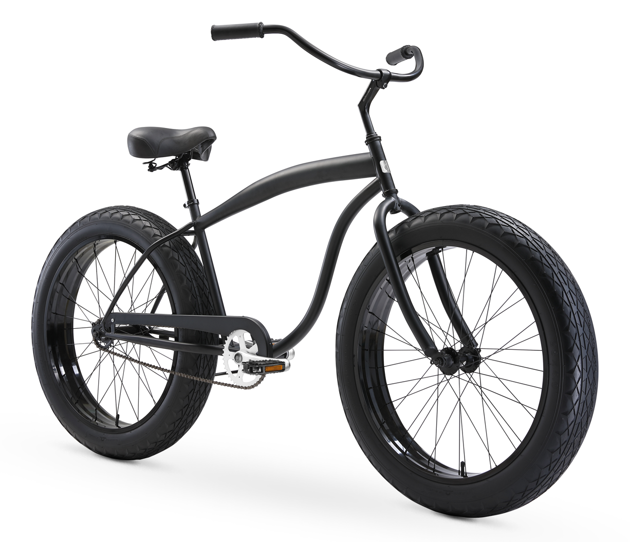 "sixthreezero In the Barrel Men's 26"" Single Speed Fat Tire Beach Cruiser Bicycle"