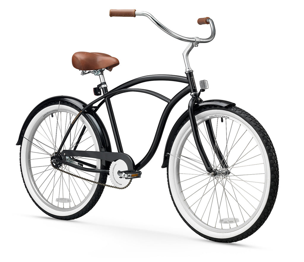BE Men's Single Speed Beach Cruiser Bicycle