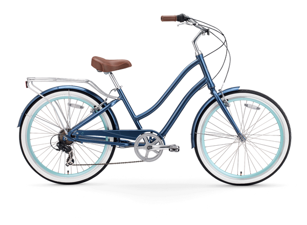 EVRYjourney Women's 26-Inch 7-Speed - Step-Through Touring Hybrid Bicycle