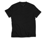 sixthreezero EVRYjourney Premium Short Sleeve Crew Black Beauty 100% Cotton Unisex Shirt