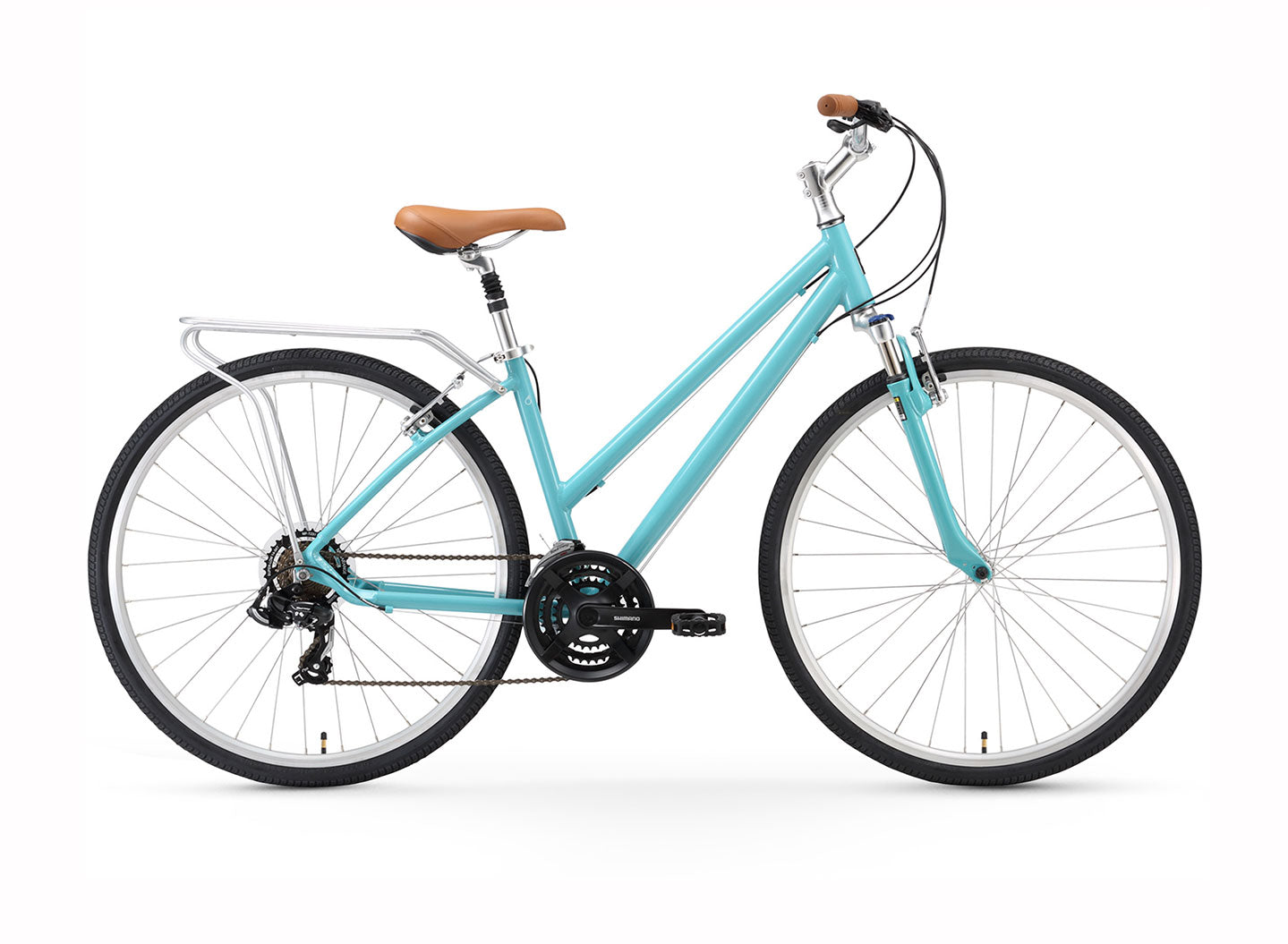 sixthreezero Pave n' Trail Women's 21 Speed Hybrid Bike
