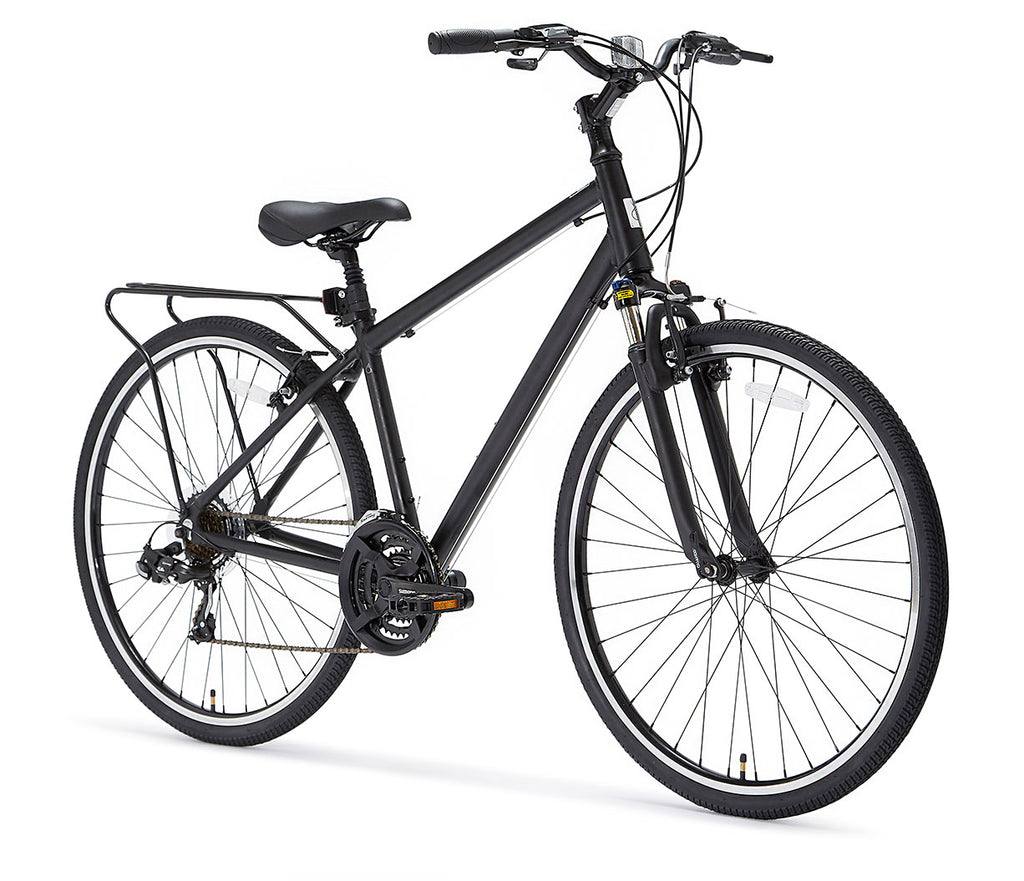 Pave n' Trail Men's 21 Speed Hybrid Bike