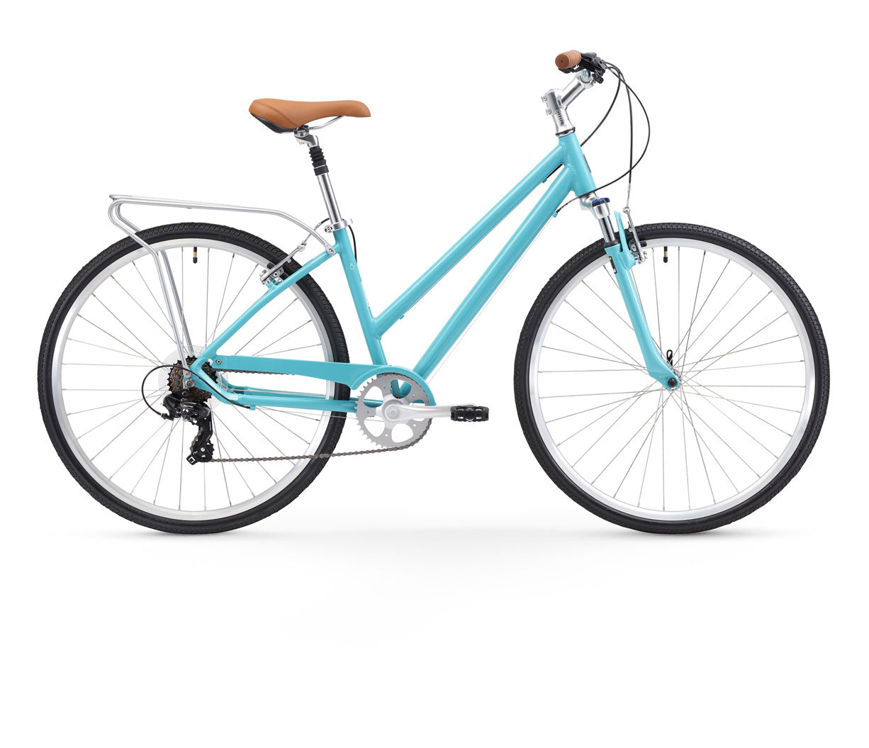 sixthreezero Pave n' Trail Women's 7 Speed Hybrid Bike
