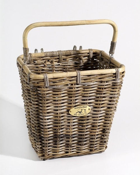 Nantucket Tuckernuck Collection Rear Wicker Baskets - Adult Size
