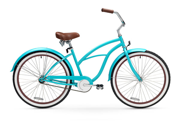 sixthreezero Teal Single Speed Women's Beach Cruiser Bike