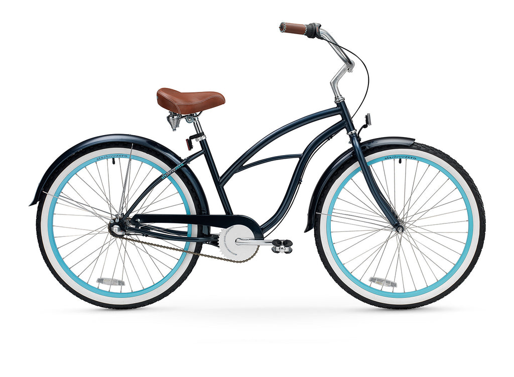 sixthreezero Classic Edition 3 Speed Women's Beach Cruiser Bike