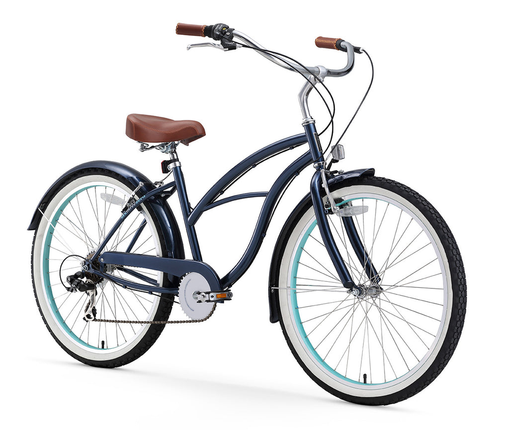 Classic Edition 7 Speed Speed Women's Beach Cruiser Bike