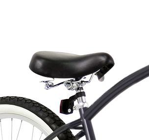 Leather Cruiser Seat