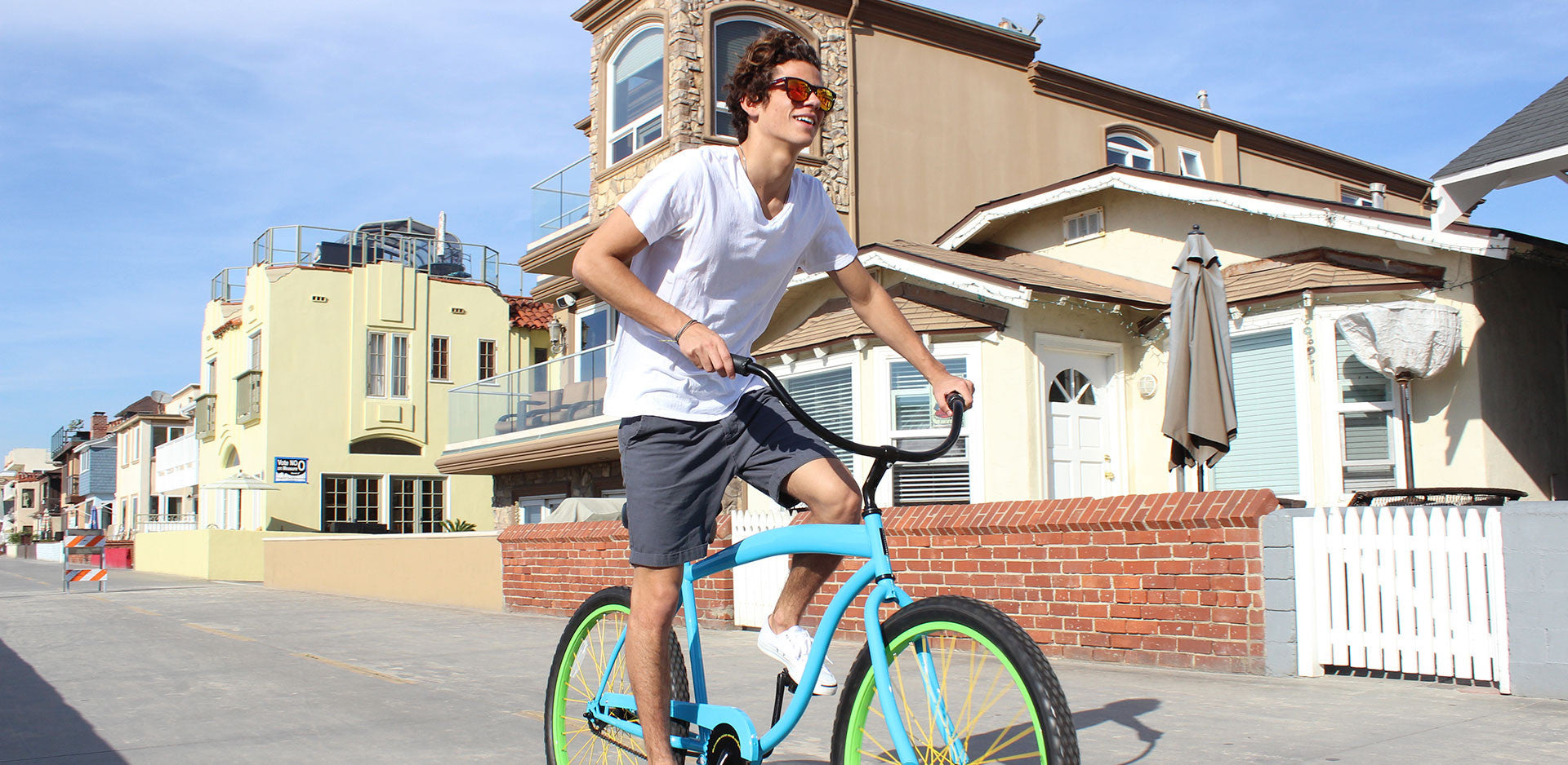 sixthreezero In The Barrel Single Speed Men's Beach Cruiser Bike