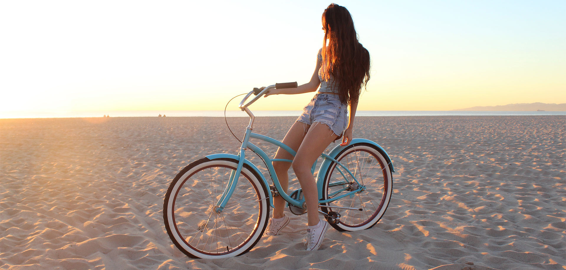 Teal Single Speed - Women's Beach Cruiser Bike
