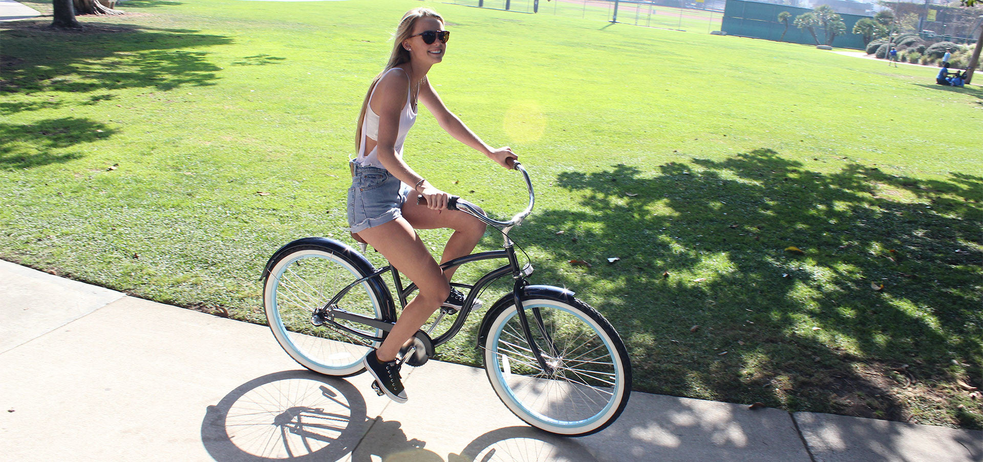 sixthreezero Classic Edition 7 Speed Speed Women's Beach Cruiser Bike