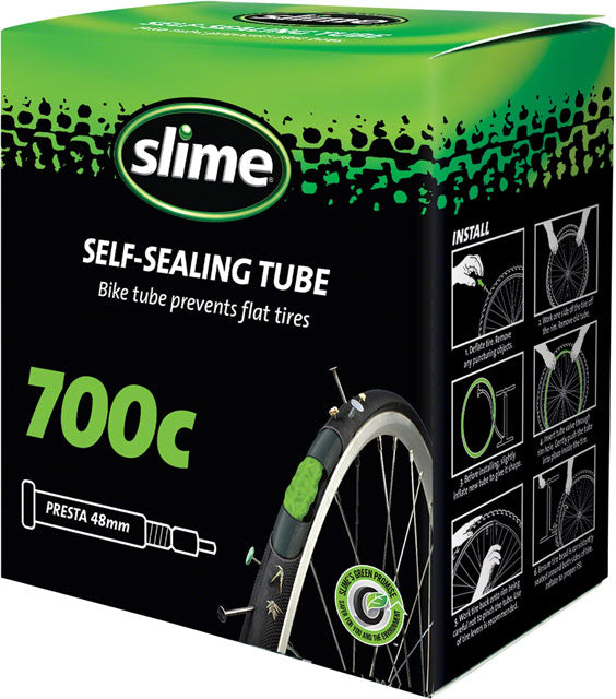 Slime Self-Sealing Tube - 700 x 19 - Presta Valve