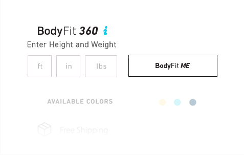 Look for our Body Fit 360 form