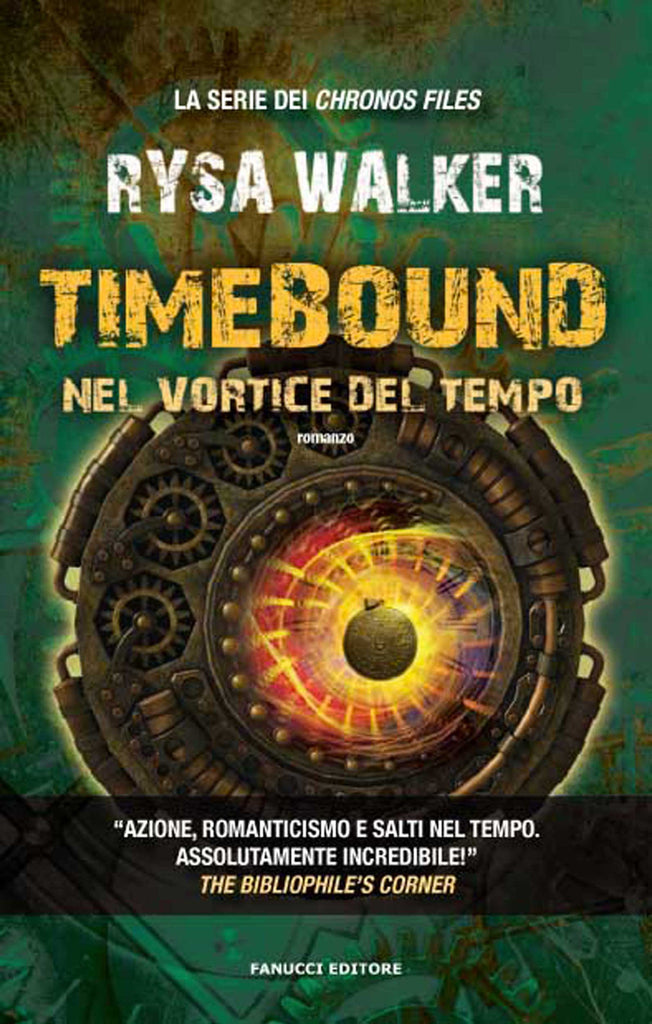 Timebound - Nel vortice del tempo (Chronos Files #1)