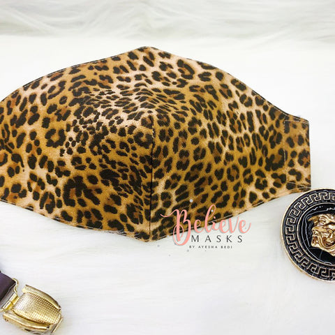 Cheetah Print - Mens Mask