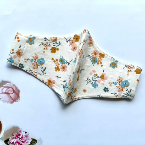Floral Splash White
