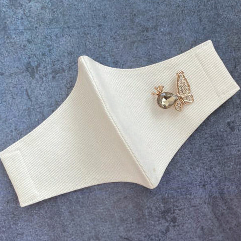 Stone Butterfly on White (No Frill)