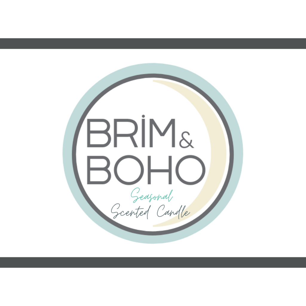 Brim & Boho Seasonal Scented Candle - Apple Pie - Brim & Boho