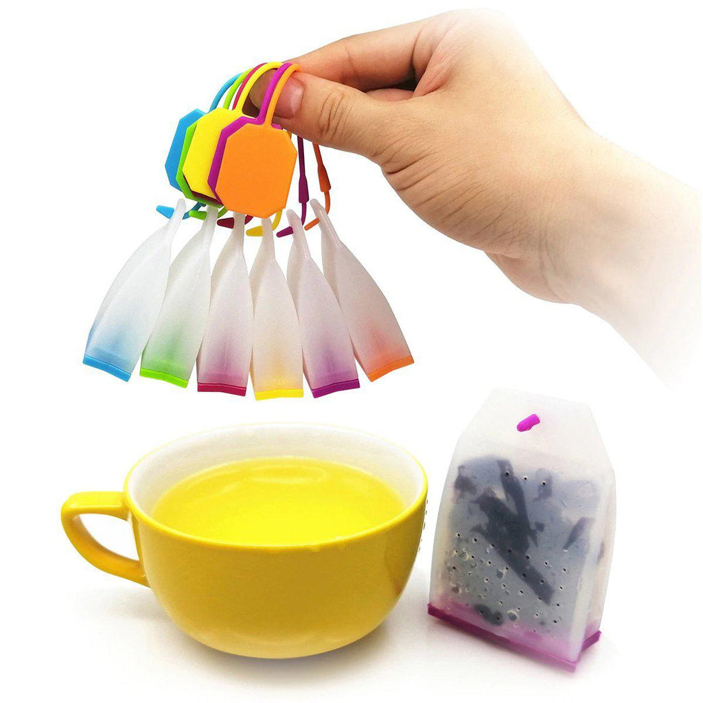 Silicone Loose Leaf Tea Bag Infuser - Brim & Boho