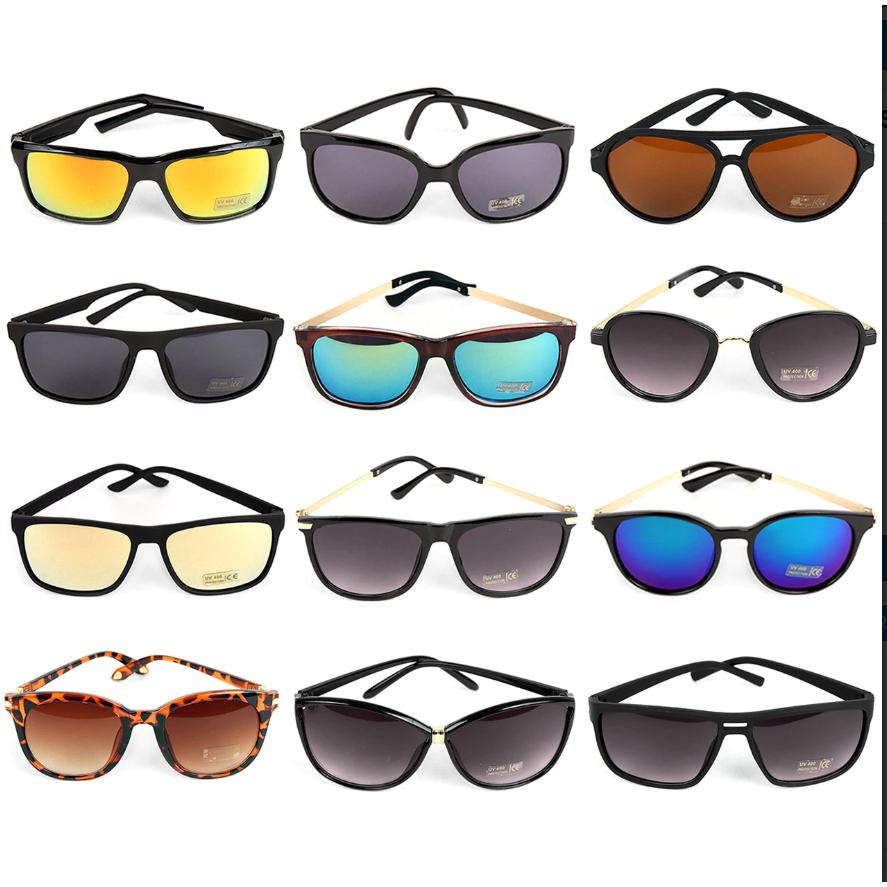 Unisex Sunglasses - Assorted Styles - Brim & Boho