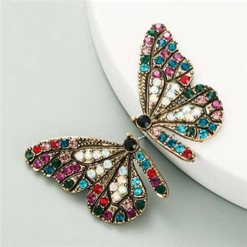 Butterfly Earrings Multicolor - Brim & Boho