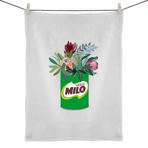 Milo Floral Tea Towel