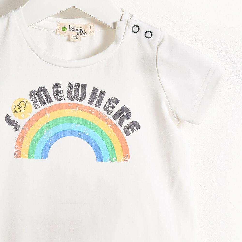 Bonnie Mob Somewhere Over The Rainbow Romper