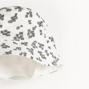 Bonnie Mob Dixon Monochrome Print Reversible Sun Hat