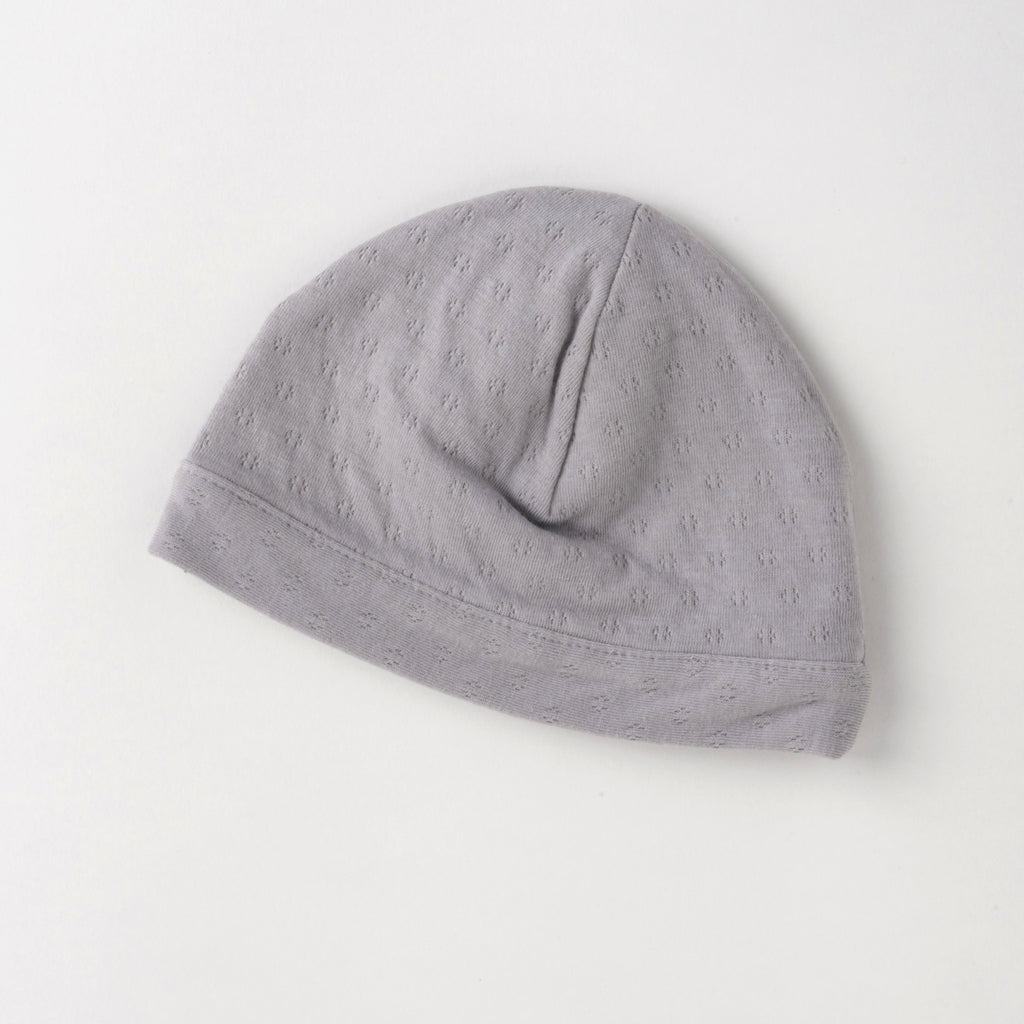 Tane Organics Pointelle Hat - Grey
