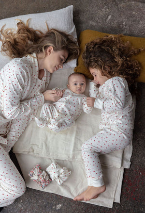 Sleepy Doe Winter Star Kids PJ Set