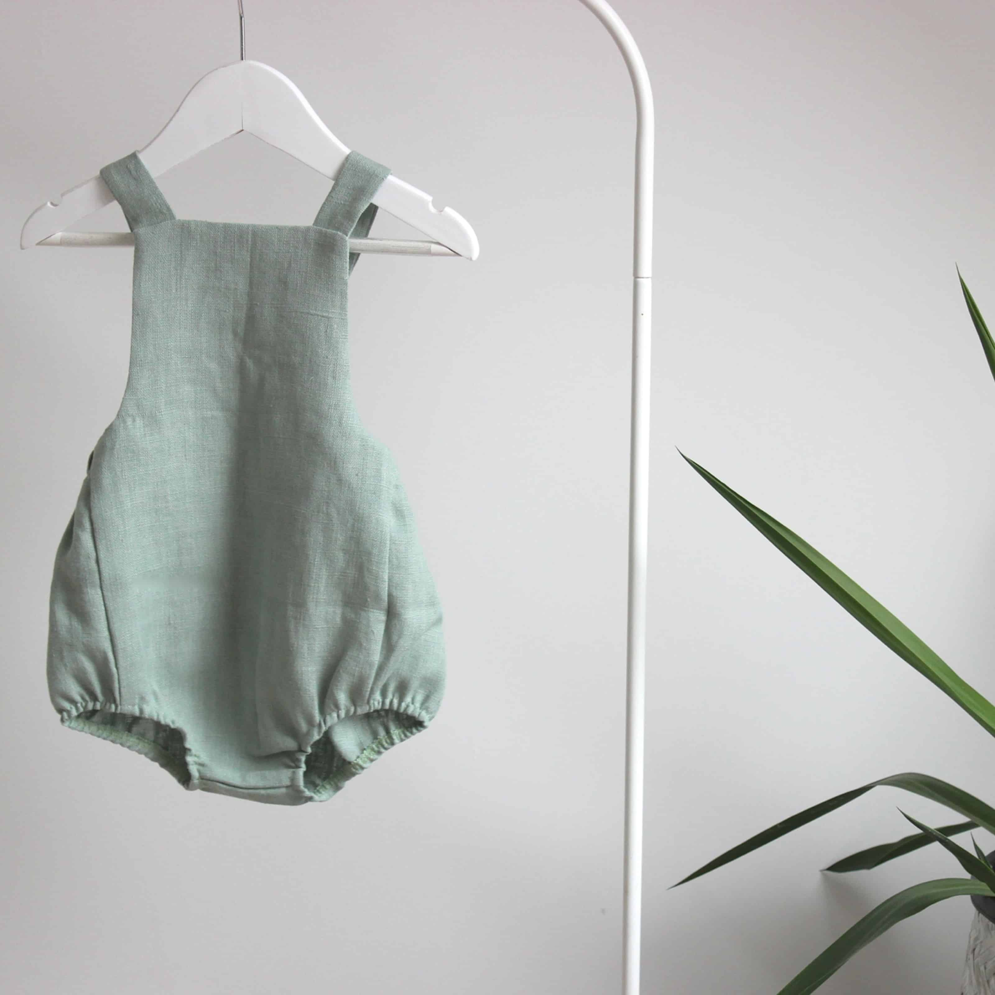 Freya Lillie Button Back Linen Romper