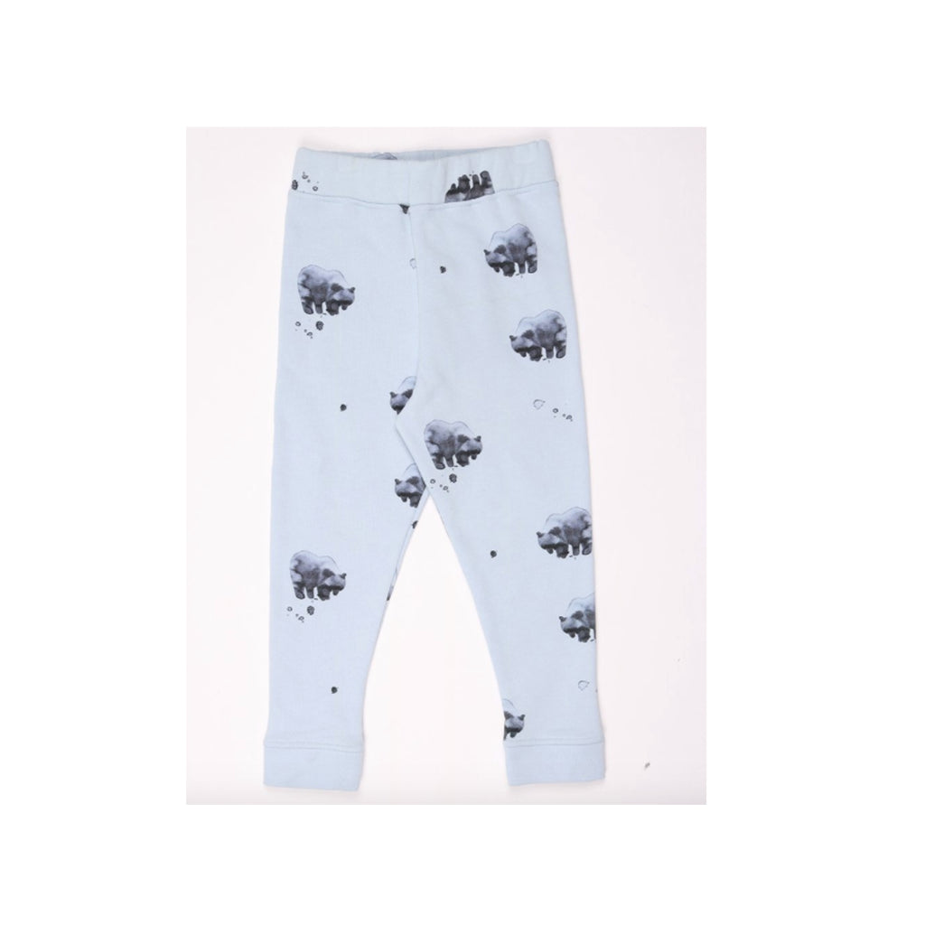 One We Like Bear Print Joggers