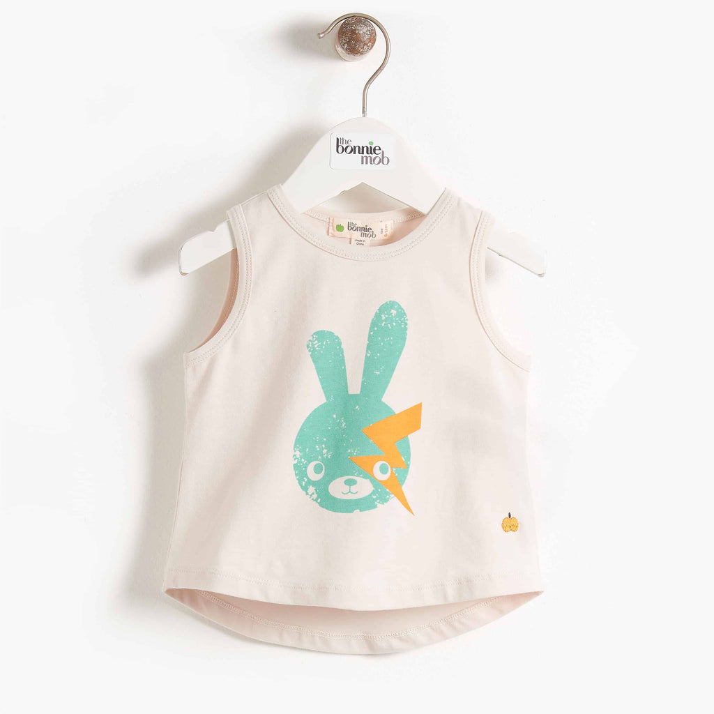 Bonnie Mob Bowie Bunny Sleeveless T-Shirt