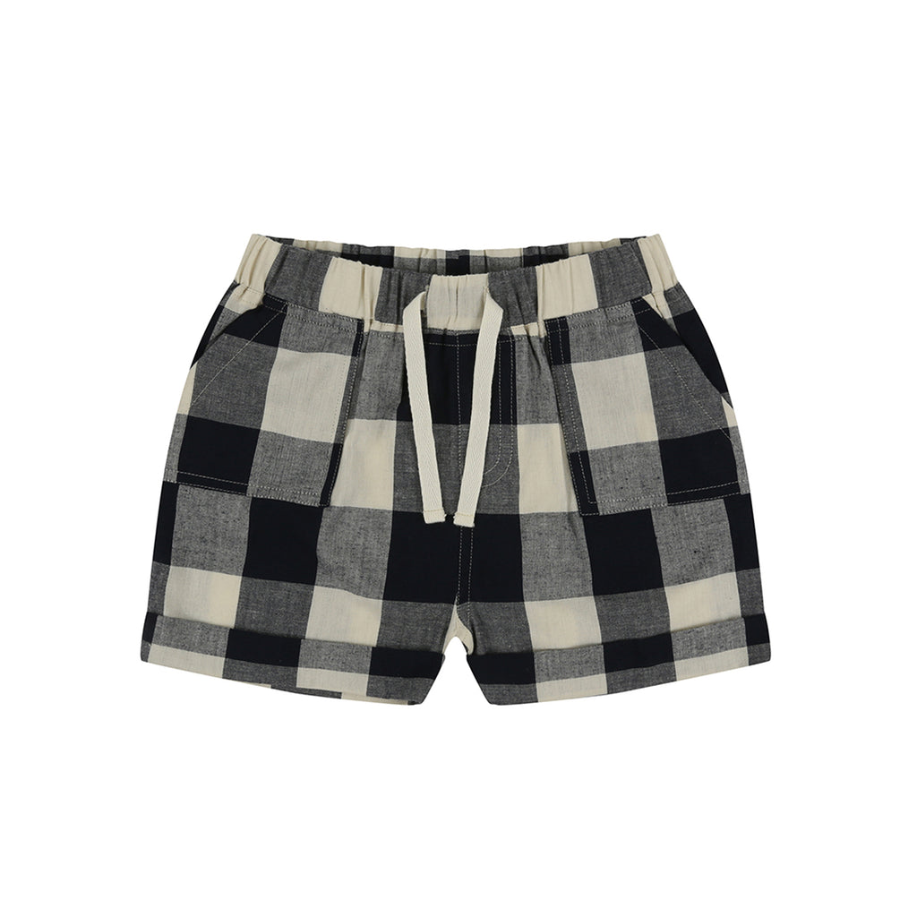 Turtledove London Check Woven Shorts