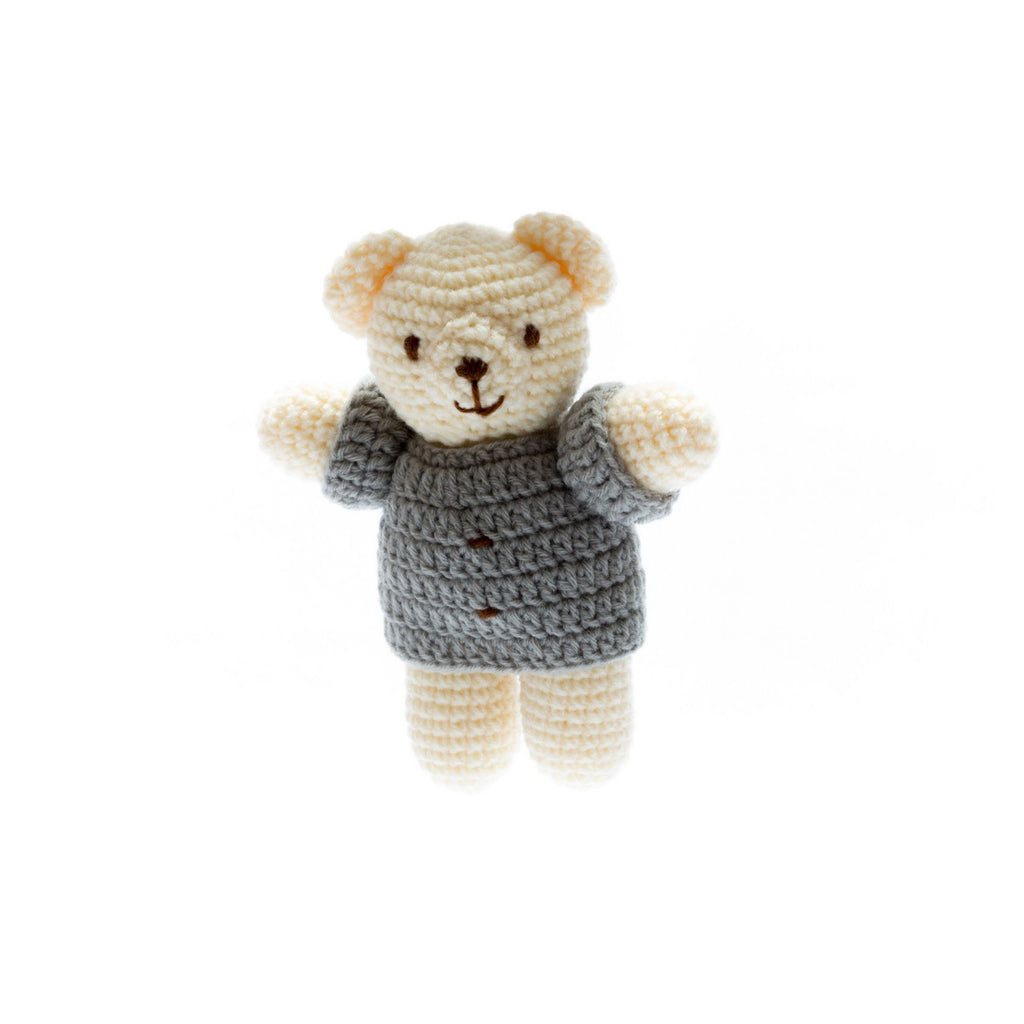 Chunky Crochet Bear Soft Toy