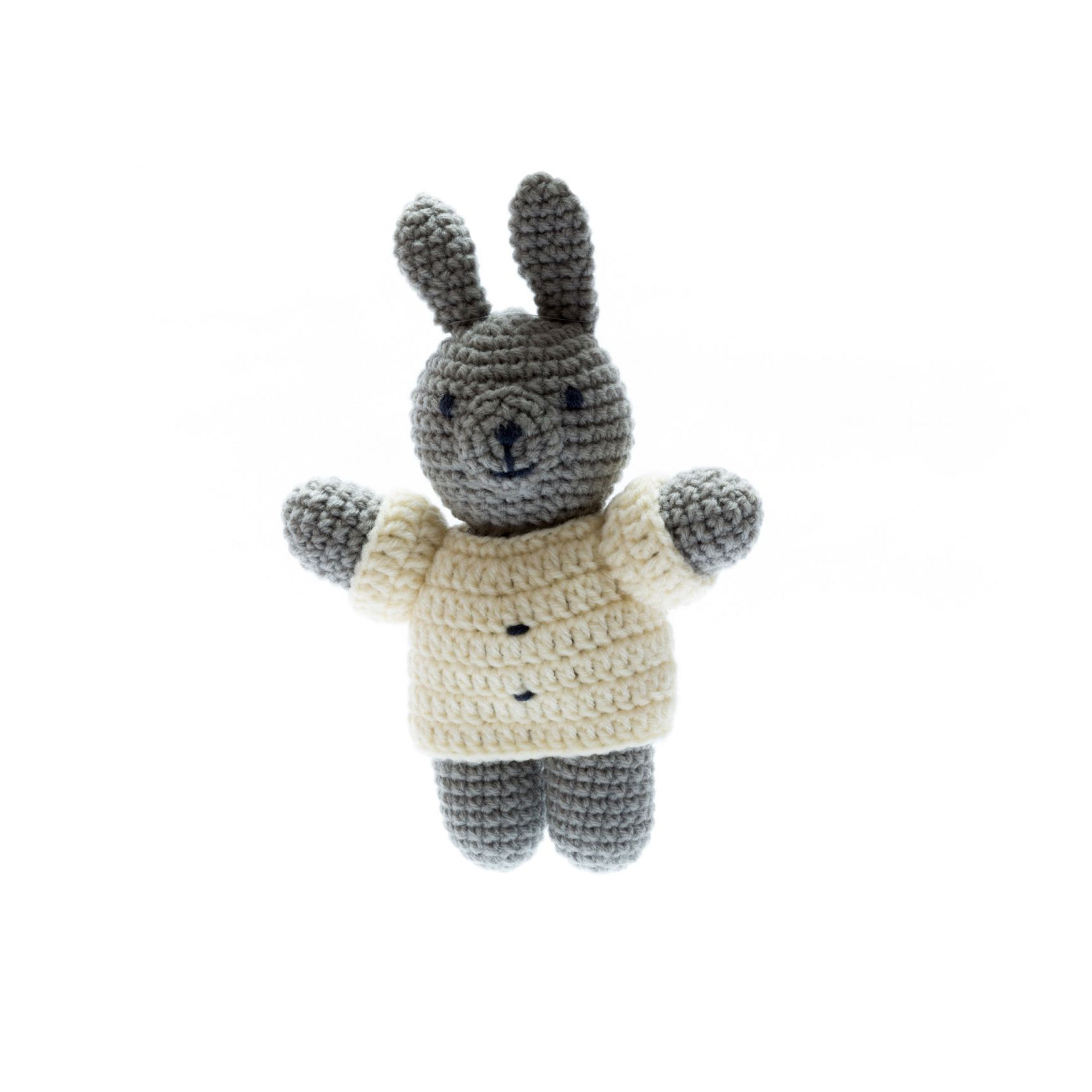 Chunky Crochet Bunny Soft Toy
