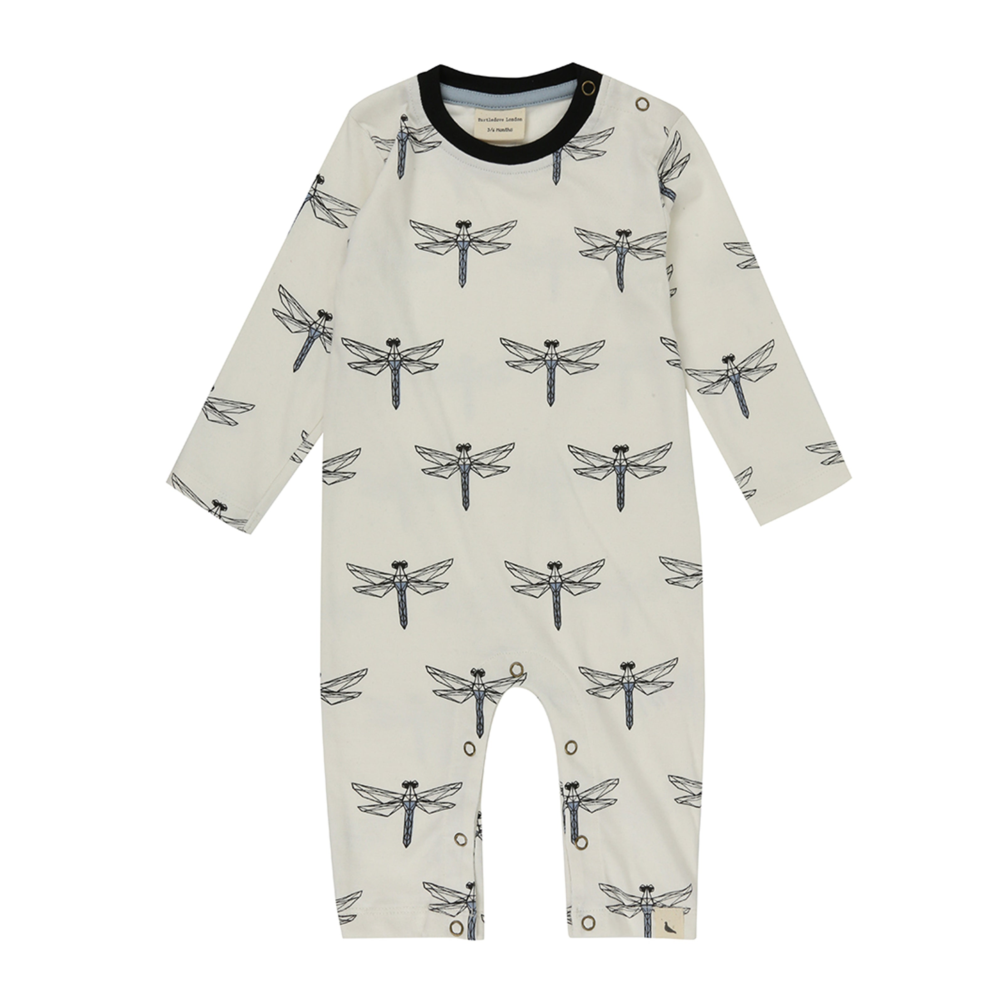 Turtledove London Dragonfly Print Playsuit