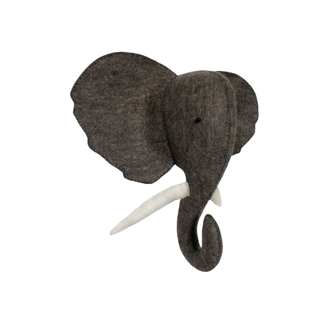 Gamcha Elephant Head Wall Hanging